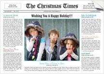 The Christmas Times by Christina N Kinoshita