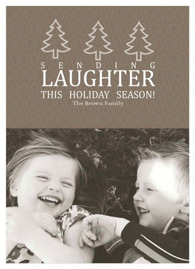 holiday photo cards - Holiday Laughter  by Tenille Jordan