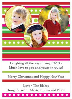 Wrappin' It Up Holiday Photo Cards
