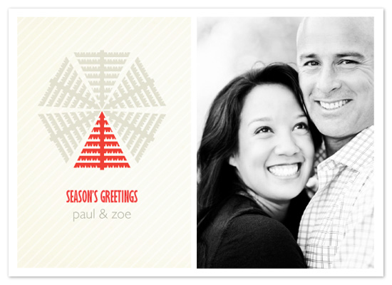 holiday photo cards - Snow Tree by Lizzy B Loves