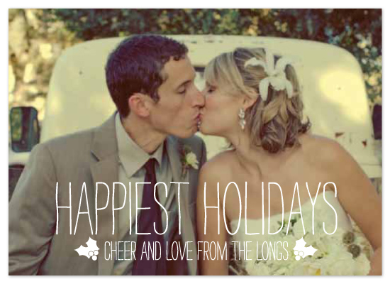 holiday photo cards - Happiest Homestyle by Max and Bunny
