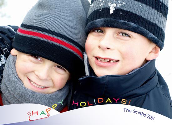 holiday photo cards - Sleigh Sending Happy Holidays by Neha Gupta
