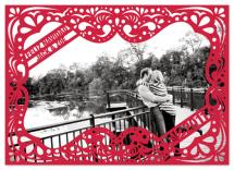 Framed by Papel Picado by Lizzy B Loves