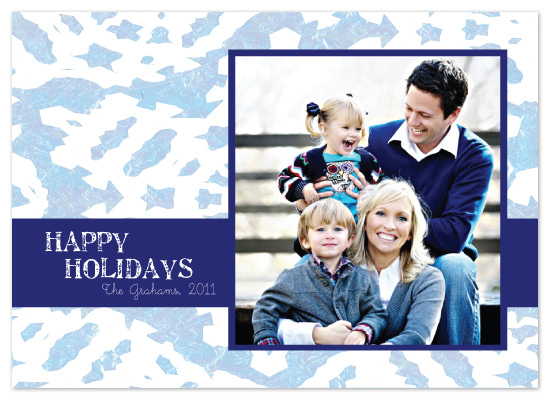 holiday photo cards - Holiday Ice by Tate Design