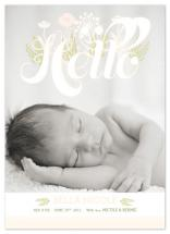 baby in bloom by Potluck Design