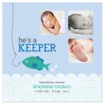 He's a Keeper by Edub Graphic Design
