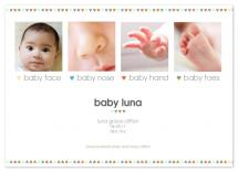 baby nose, baby toes by toast events + design
