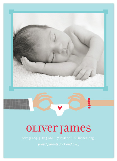 birth announcements - Tiny Love by Vicky Barone