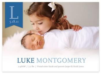 Babies First Monogram