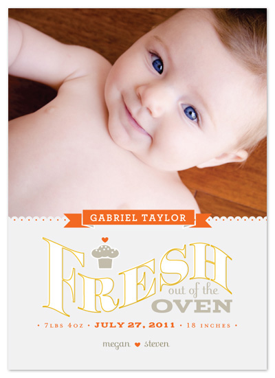 birth announcements - Oven Fresh by Crystal Ku