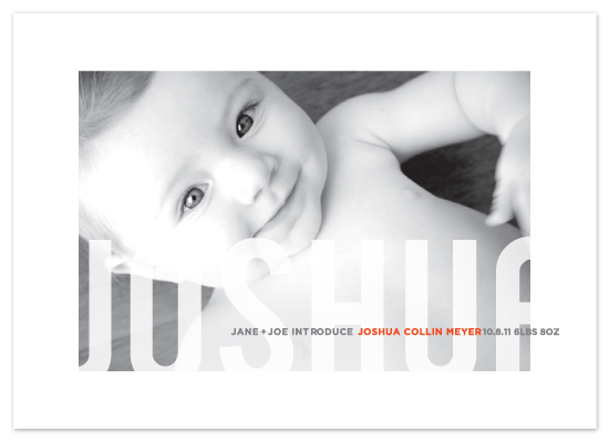 birth announcements - studio crop by kelli hall