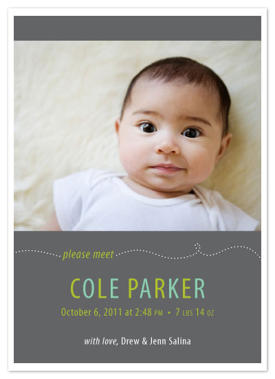 birth announcements - Beeline Birth Announcements by L.C.