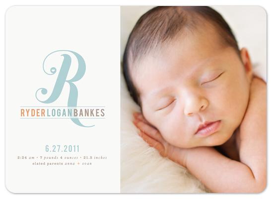 birth announcements - Little Darling by Melanie Severin