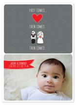 First Comes Love by Edub Graphic Design