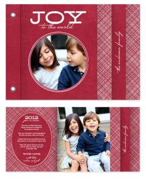 Crosshatch Joy Cards