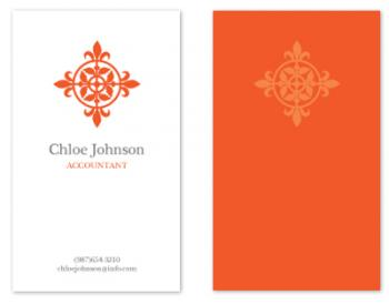 Modern Elegance Business Cards