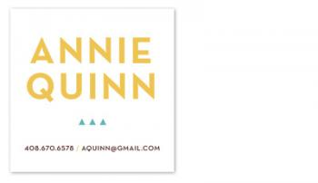 Little Triangles Business Cards