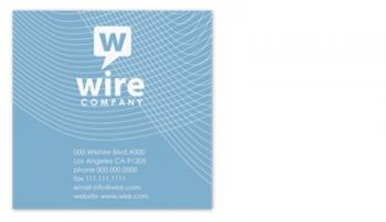 wire Business Cards