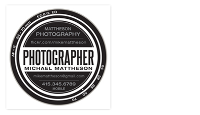 business cards - shooter by Guess What Design Studio