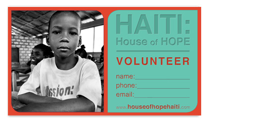 business cards - House of Hope by Raybo Design