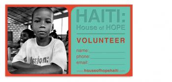 House of Hope Business Cards