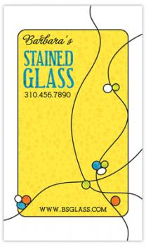 Stained Glass Business Cards