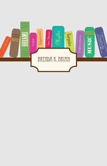journals - bookCase4Creativity by Kate Terhune