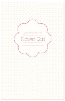 flower girl Journals