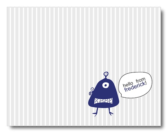 personal stationery - Monsters Can Write, Too! by Jessica Kim