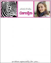 zebra girl by d greene
