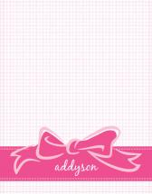 Little Bow Pink by The Paper Proposal