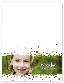 Pitter-Patter Personal Stationery