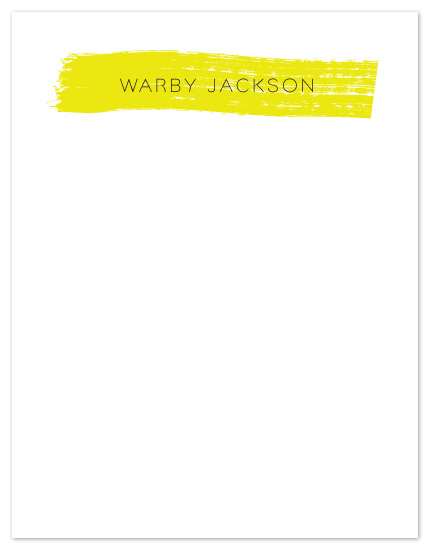 personal stationery - The Translucent by Maria E