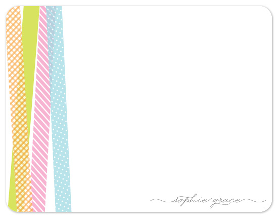 personal stationery - Washi Sorbet