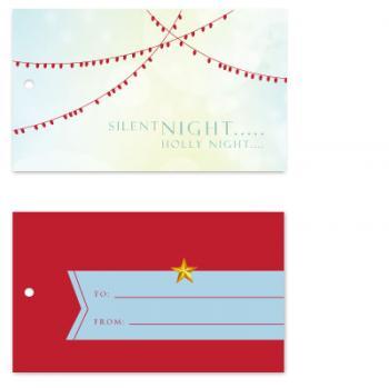 Christmas Lights Gift Tags