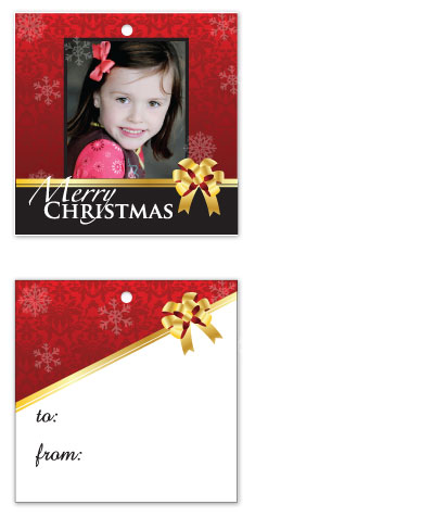gift tags - With Love by Connie Daly
