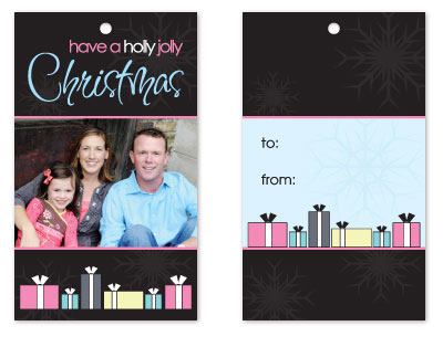 gift tags - Holly Jolly Christmas by Connie Daly