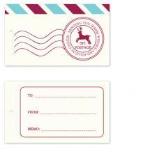 Sleigh Mail by Christy de la Torre