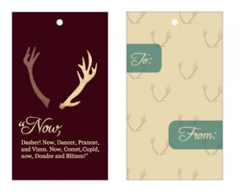 Woodland Wonderland Gift Tags