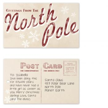Greetings from the North Pole Gift Tags