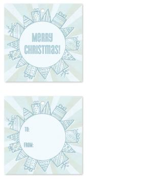 Gift & Tree Wreath Gift Tags