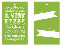 Typo Christmas by KCB Design