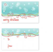 Snowflakes and Swirls by Christy de la Torre