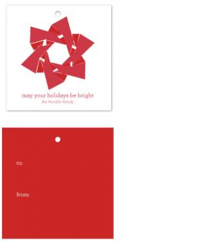 Merry Berry Star Gift Tags