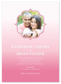 OmbreObessed Wedding Invitations