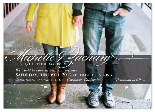 wedding invitations - Something Simple by Janelle Otsuki