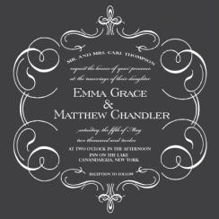 Love Flourishes Wedding Invitations