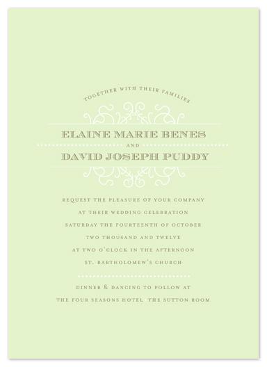 wedding invitations - Victoriana by Spinsugar
