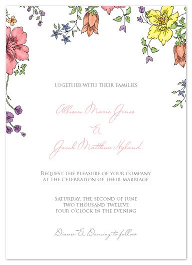 wedding invitations - Garden Party by Lauren Elisabeth