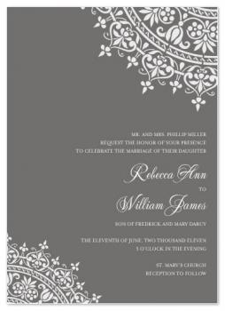 Ornante Opulence Wedding Invitations